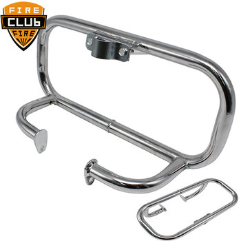 Motorcycle Front Engine Guard Crash Bar Safety Bumper For Honda Rebel CA 250 86-2012 CMX 250 86-12 CMX250C 03-12