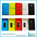 new Back battery cover housing with side button sets for Nokia lumia 520 N520,black white,yellow,red,blue,Best quality