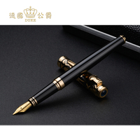 Luxury Iraurita Nib Fountain Pen Germany Duke Red and Blue Stone Ink Pen High end Business Gift Pens Office&school Stationery