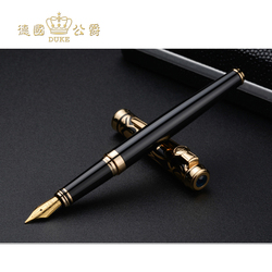 Luxury Iraurita Nib Fountain Pen Germany Duke Red and Blue Stone Ink Pen High-end Business Gift Pens Office&school Stationery