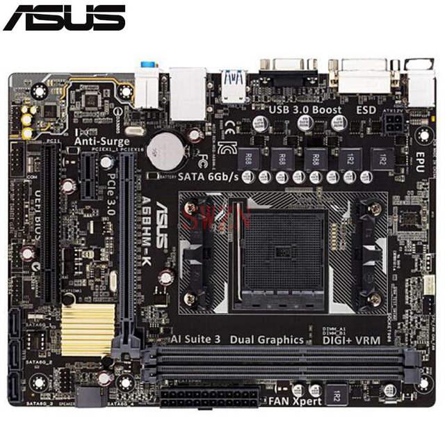 Image result for Asus A68HM-K Motherboard