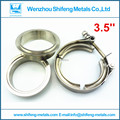 "3.5"" V band clamp and M&F flanges Full made of 304 stainless steel clamp and flanges"