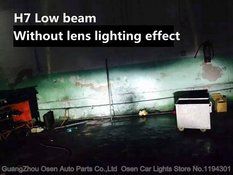 40W H7 led CREE Chips headlights car H1 H8 H9 H119005 HB3 9006 HB4 H3 H4 H13 9004 9007 LED headlight headlamp bulbs 4800LM 3