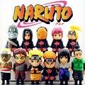 Real 4400 mAh Banco de la Energía Fresca de Dibujos Animados Naruto Uzumaki Sasuke Teléfono Móvil Portátil de Carga