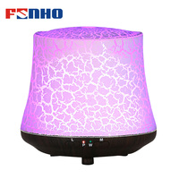 FUNHO Ultrasonic Air Humidifier Aroma Essential Oil Diffuser Night Lights Perfumes Aromatherapy Fogger For Home Office