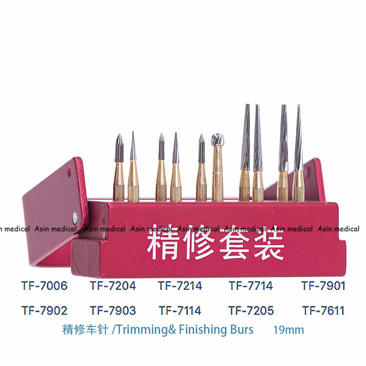 high quality Dental burs SBT tungsten steel intensive package SBT polishing set 10 pc/ set of dental materials 1pc zirkon zahn system dental milling burs and stylus 1l 2l 4l to be chosen