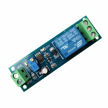 Relay/delay disconnect module after power-on / 5V/12V delay control adjustable controller
