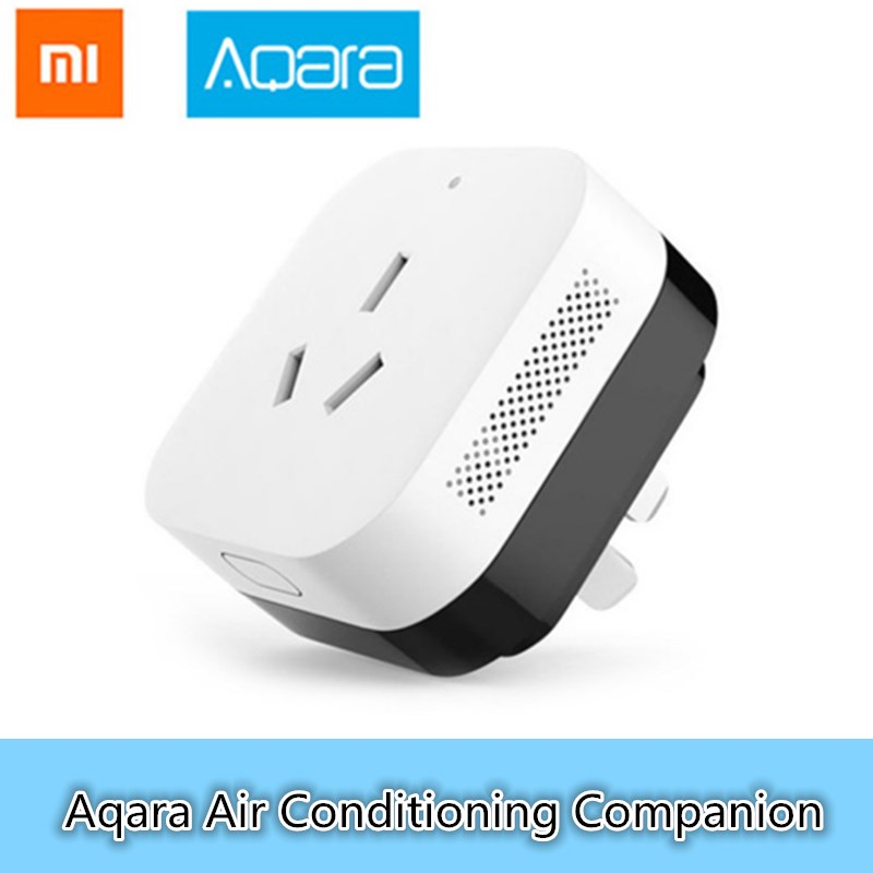 D'origine Xiaomi Aqara Air Conditionné Compagnon Avec Température Humidité Capteur ZigBee Sans Fil Transmission