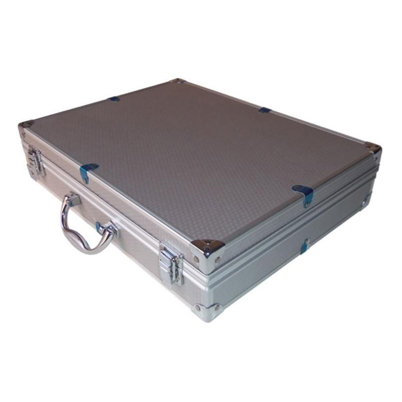 370x285x80mm Aluminum Alloy Tool Case Outdoor Safety Equipment Box Portable Safety Instrument Case Suitcase Portable Tool Box