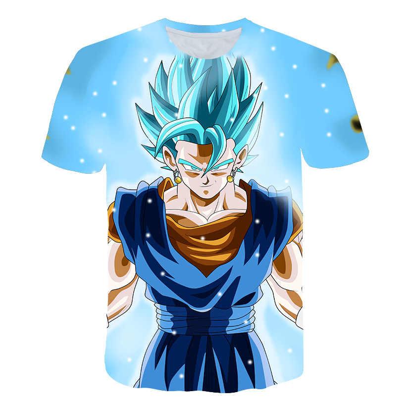Dragon Ball Футболка супер сайян Dragon Ball Z Dbz Son футболка «Goku» Япония