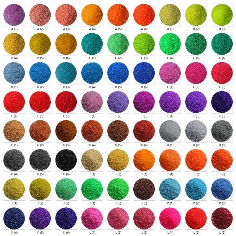 72 couleurs 72000 pièces 2.6mm Hama Perles 3D Puzzle jouets pour enfants Juguetes enfants jouets éducatifs Perler Perles de Hama - 6
