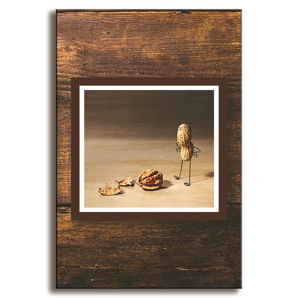 canvas art cheap taste peanuts man d oil painting on canvas framed single home decoration canvas