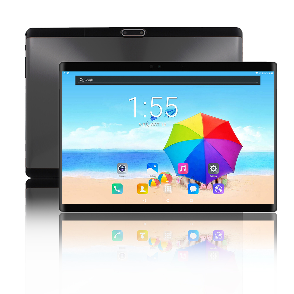 Hot Sale 2019 New 10 Inch Tablets 3G 4G LTE Android 9.0 Octa Core 4GB RAM 64GB ROM WiFi GPS 10.1 IPS 1280*800+Gifts Tablet PC