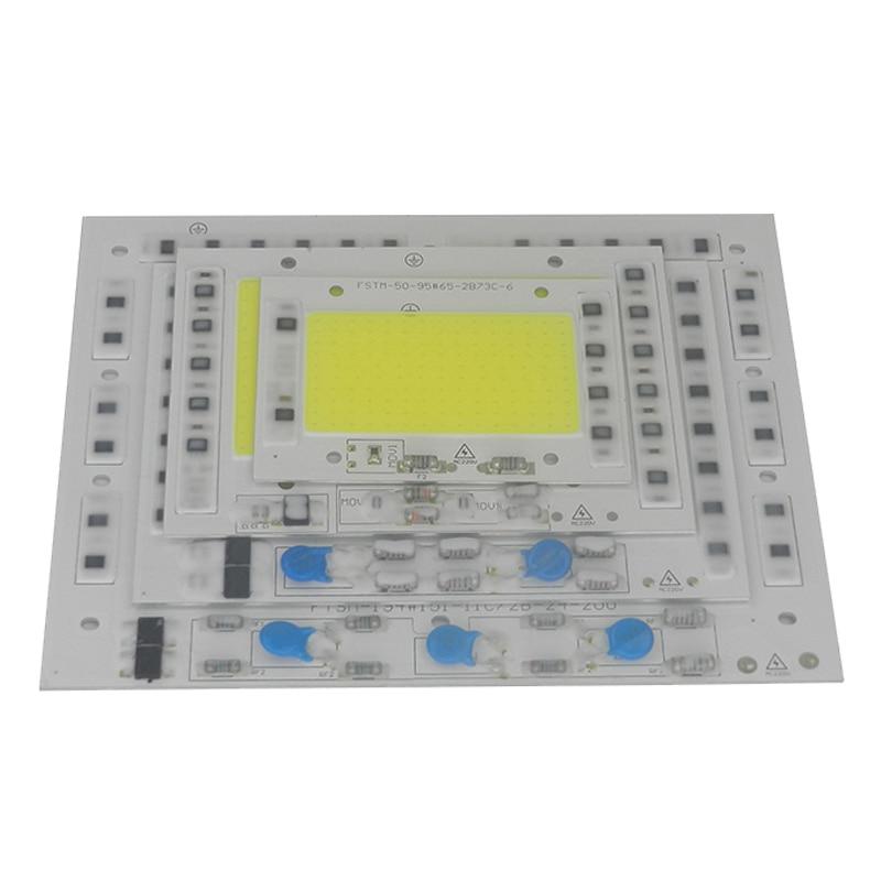 Smart IC di Alto Potere LED A Matrice Per Proiettori 50 W 100 W 150 W 220 W 220 V DIY Luce di Inondazione COB HA PORTATO Diodo Chip Riflettore Esterno lampada