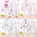 2016 nova roupa do bebê conjuntos conjunto de algodão do bebê para bebê e crianças menino e menina roupa do bebê 5 cores Underwear bebê para recém-nascido