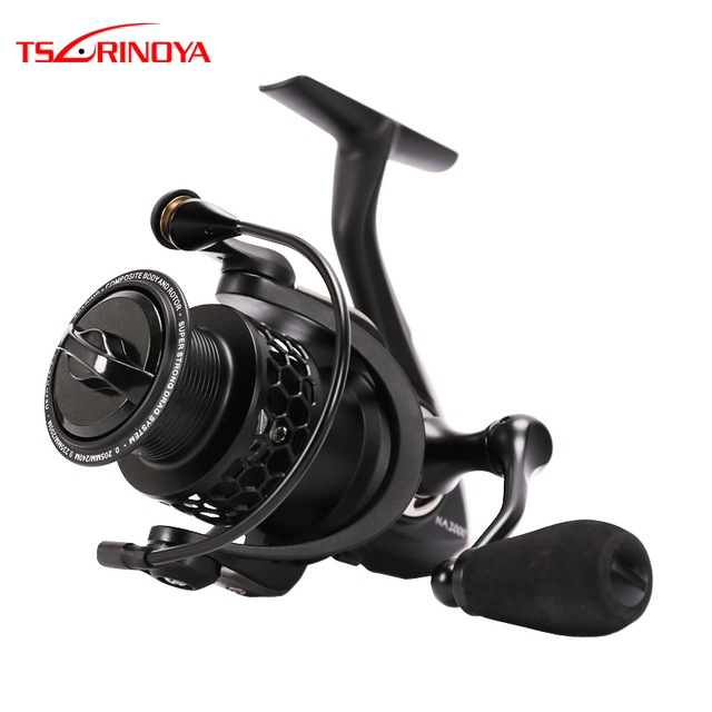 TSURINOYA Fishing Reels Spinning NA 2000 3000 4000 5000 Spinning Wheel Carp Fishing Tackle Sea Jigging Reel Carretes De Pesca