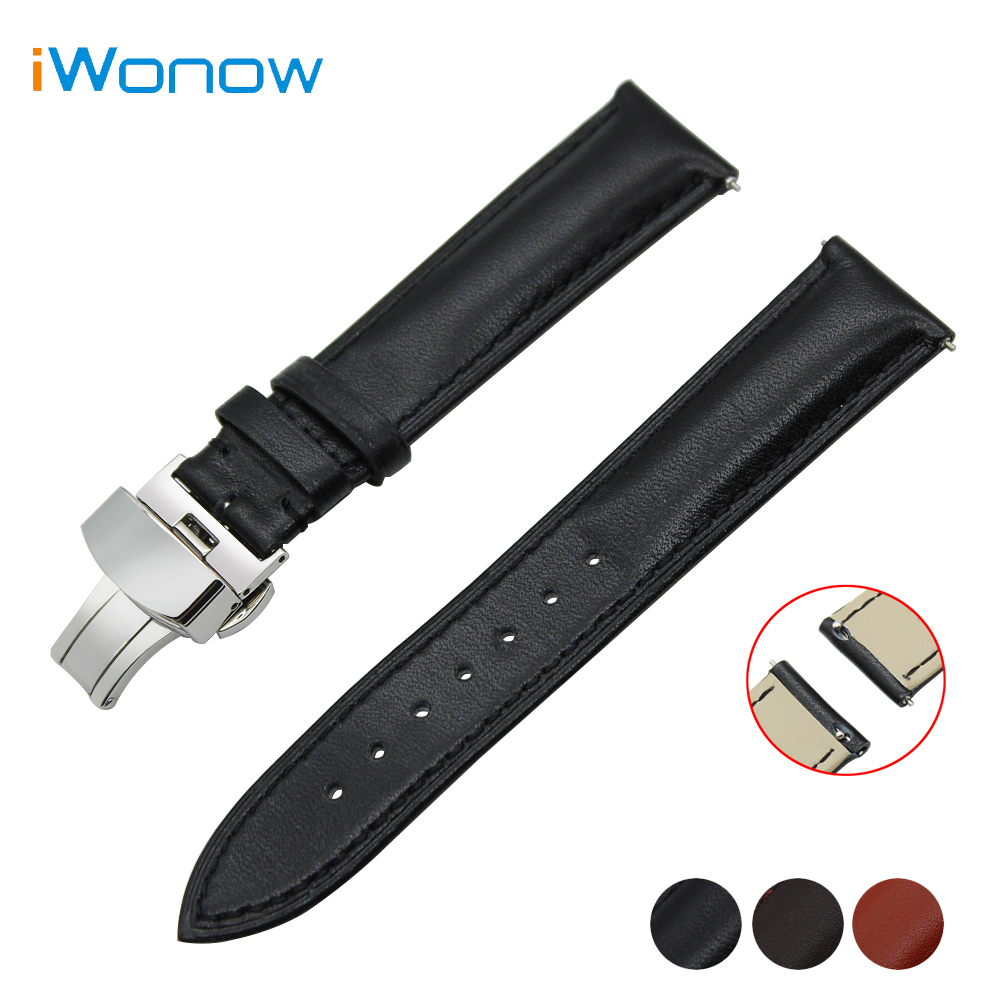 Cowhide Genuine Leather Watch Band 18mm 20mm 22mm for Tissot T035 PRC200 T055 T097 Quick Release Strap Wrist Belt Bracelet 20mm 22mm stainless steel watchband quick release strap for tissot 1853 t035 t097 watch band butterfly clasp belt wrist bracelet