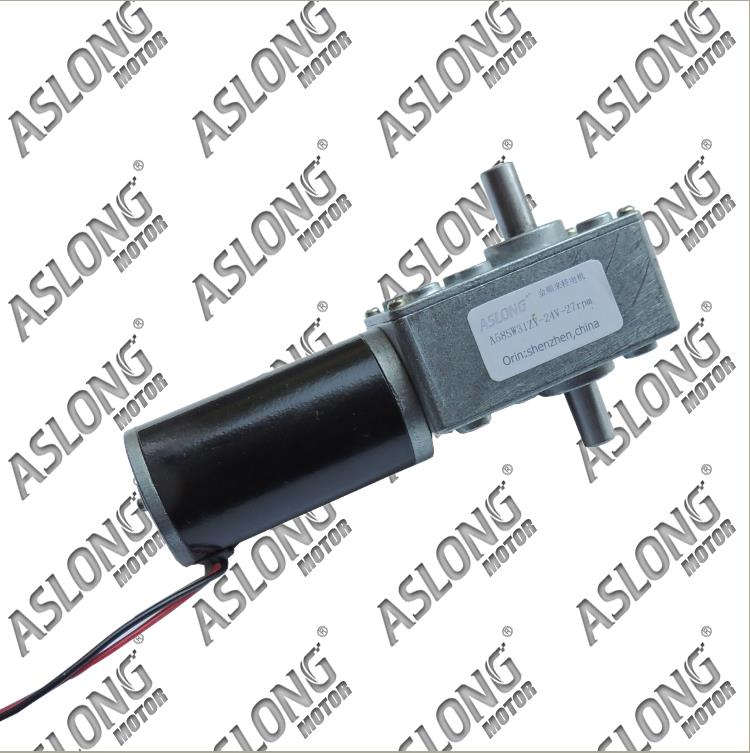 A58sw31zys12 volt 220v powerful dc small Motor Output Shaft Gear electric toys 12v permanent generator tubular micro retifica with gear 40w 50w hand cranked generator dc small generator 12v 24v permanent magnet dc motor dual use