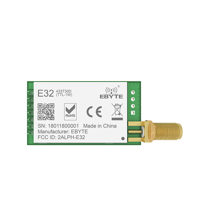 Image 2 - LoRa SX1278 SX1276 TXCO 433MHz 1W rf Module E32 433T30D lora Transmitter UART 433t30d Long Range 8000m Wireless rf Transceiver-in Fixed Wireless Terminals from Cellphones & Telecommunications