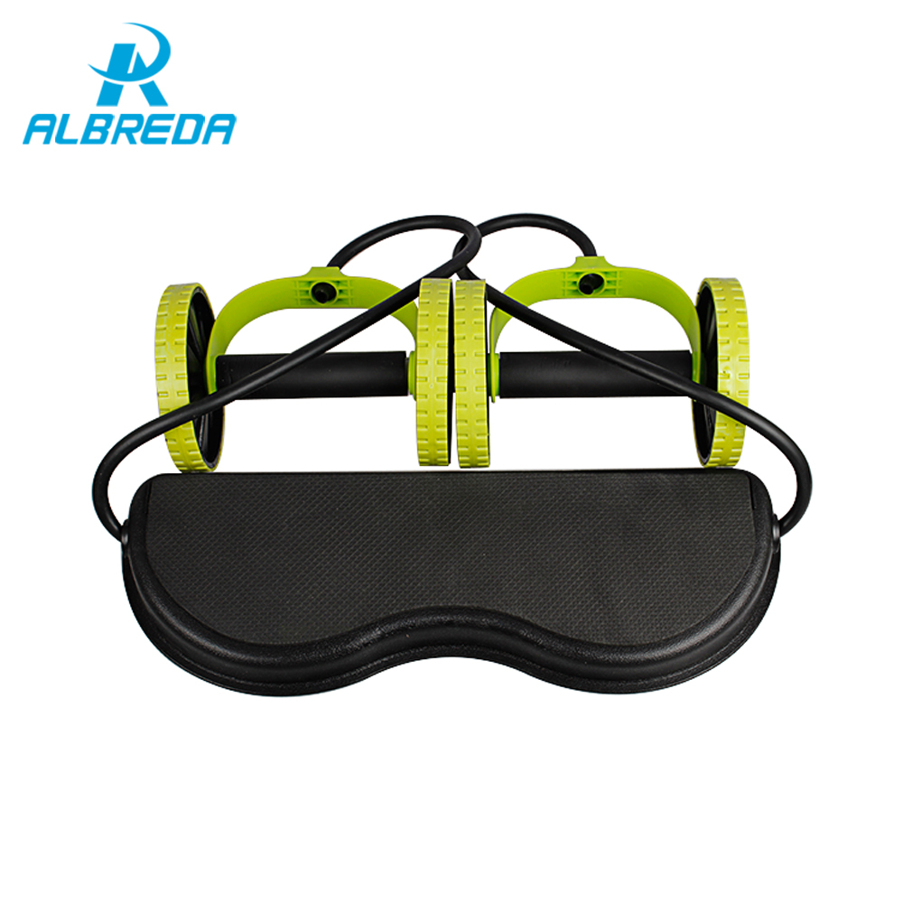ALBREDA slidingtrainer multifunctional ab tension device combination ab slimming weight loss equipment ab wheel slimming weight