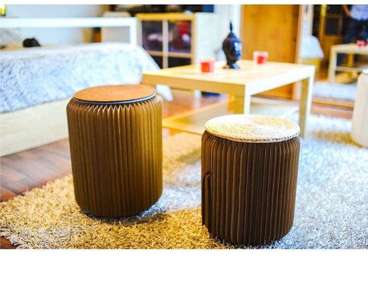 Оригинальный Ihpaper бренд эксклюзивный дополнительный натуральный складной в наличии на заказ складной стул