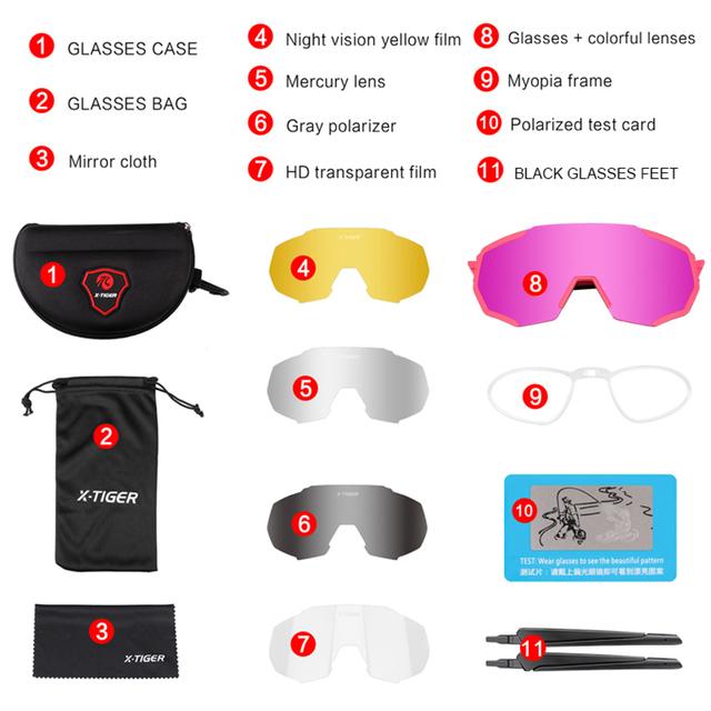 Women Polarized Cycling Eyewear