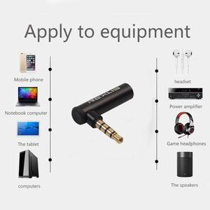 90-градусный прямоугольный 3,5 мм штекер в гнездо аудио конвертер адаптер разъем L Тип стерео наушники микрофон разъем