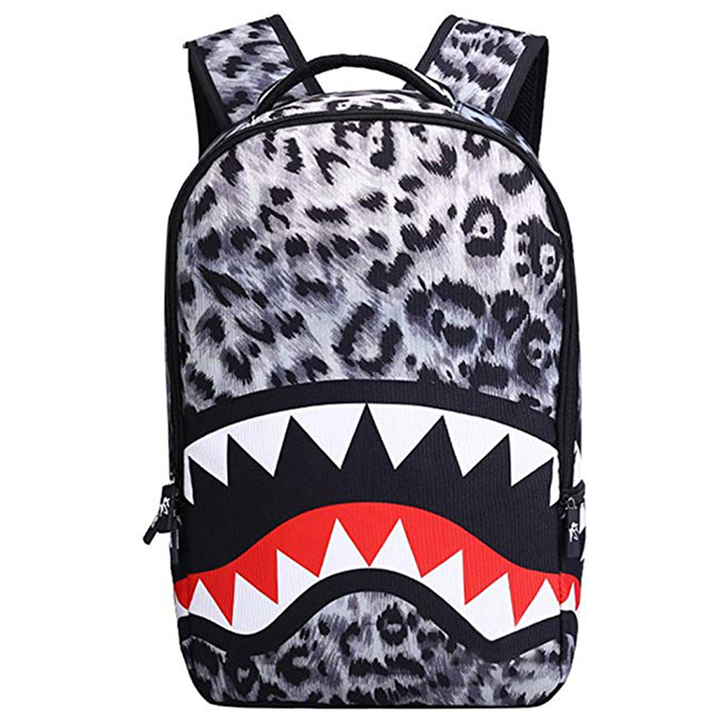 Big Mouth Shark School Backpack For Boys And Girls Men Backpack Casual Travel Bag Bolsa Mochila 2019 Fashion Student School Bags
