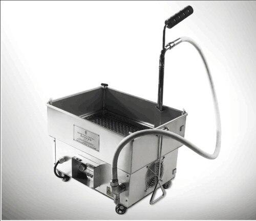 20L Oil Filter Oil Filtration System Filtering Machine for Frying Oil Brand new RH