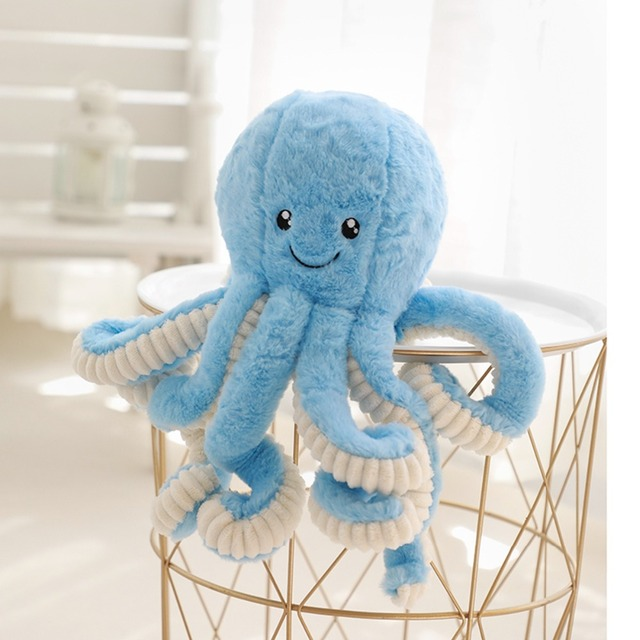 Kid's Cartoon Style Octopus Plush Toy 4