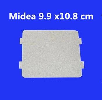 10 шт. запасные части для микроволновых печей слюда микроволновая печь 9,9*10,8 см слюда листы для Midea магнетронная крышка микроволновые плиты д...