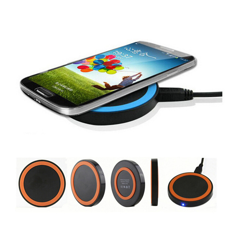 RACAHOO Professional Qi Wireless Charger Charging Pad Mat For Nokia Samsung Galaxy S8 Plus S7 S6 Edge Note 5 Sony Xperia Z4V Z3V qi wireless charger pad transmitter with receiver set for samsung galaxy s5 black