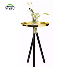 New Design coffee table wooden home furniture Flower pot table Home Decor
