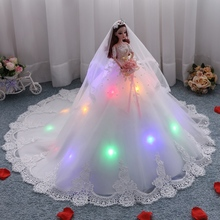 Princess Dolls Toys For Girls Large Skirt With Light Dolls Lol Reborn Doll Toy Girl Reborn Doll 2019 Gift Toys For Children недорого