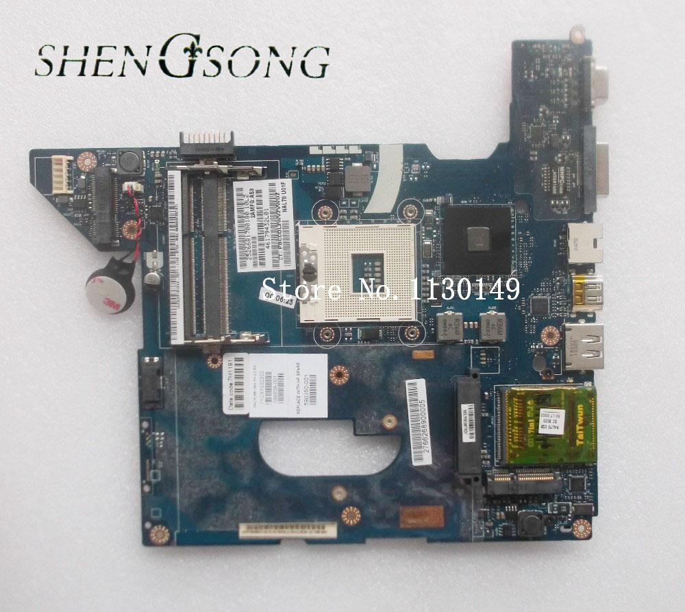 590350-001 Free shipping NAL70 LA-4106P For HP pavilion DV4 DV4-2000 Laptop motherboard HM55 Graphics DDR3 free shipping for hp dv4 motherboard 590350 001 nal70 u02 la 4106p 100% tested