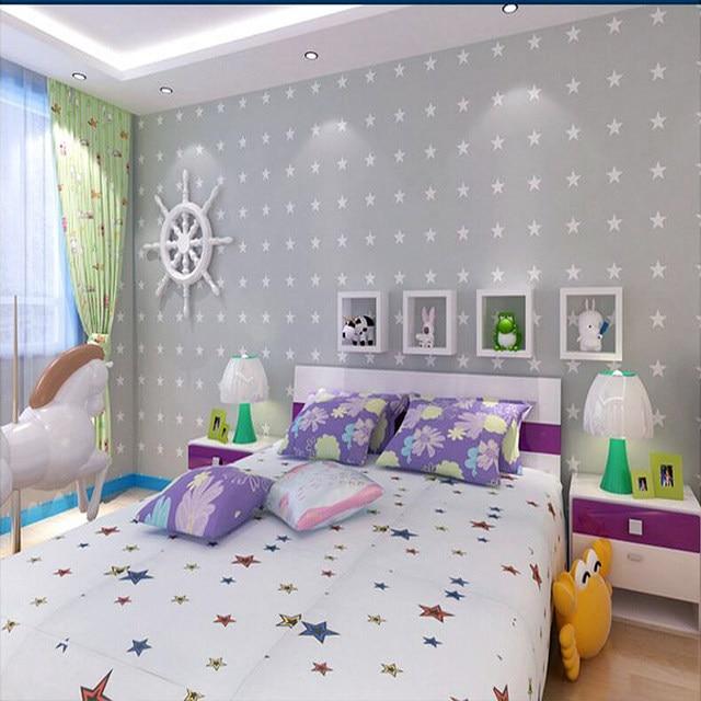 Tapeten Youman Amerikanischen Stil Nicht Woven Stern Für Cartoon  Kinderzimmer Schlafzimmer Jungen Zimmer Wände Hause Dekoration Wand