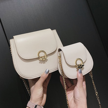 цены Small Bag Woman 2019 Chain Saddle Package Personality Single Shoulder Satchel Tide handbag ladies hand bags