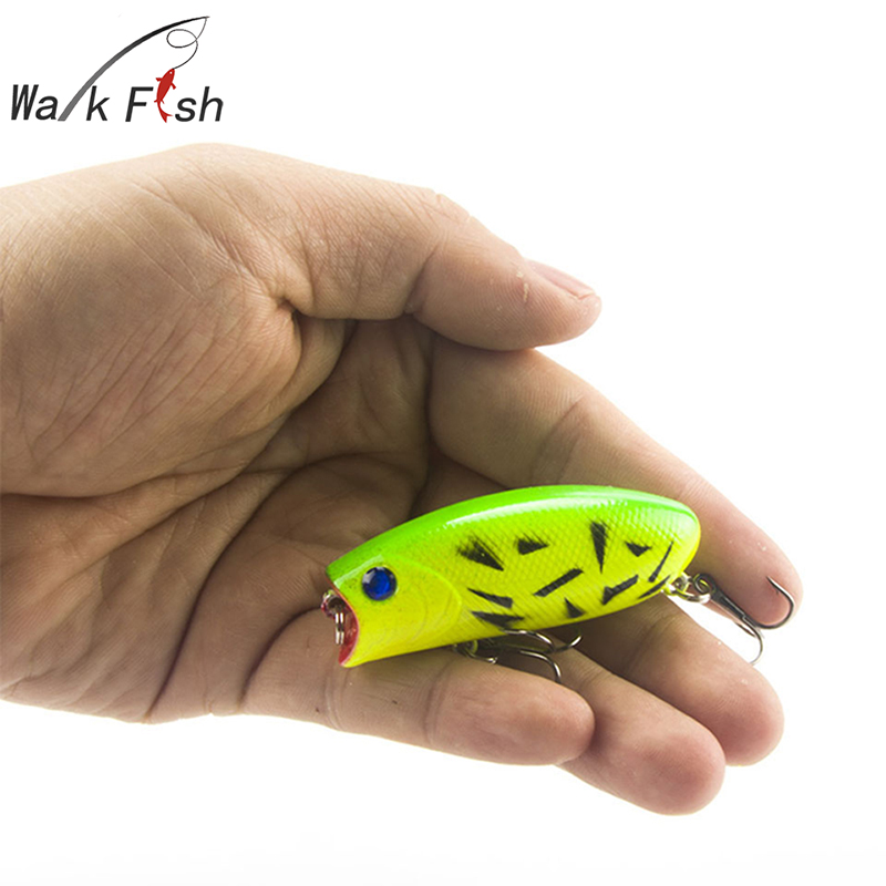 1Pcs 3D Eyes Fishing Lure 5.5cm 11g 8# Hooks Pesca Fish Lifelike Popper Lures Wobbler Isca Artificial Hard Bait Swimbait 1pcs 16 5cm 29g big minnow fishing lures deep sea bass lure artificial wobbler fish swim bait diving 3d eyes