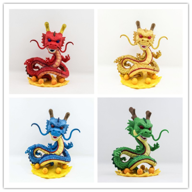 Anime Dragon Ball Action Figure POP Shenron 265# Model PVC Collection Dragon Toy for Kids Lucky Collectible Doll 14cm anime one piece dracula mihawk model garage kit pvc action figure classic collection toy doll