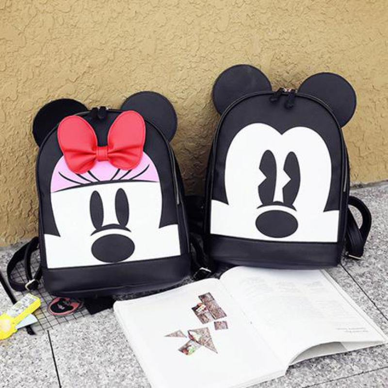 Cartoon Minnie Mickey Backpack Cute Parenting Girl Child Small School Bag Kids Bags Baby School Bag A238