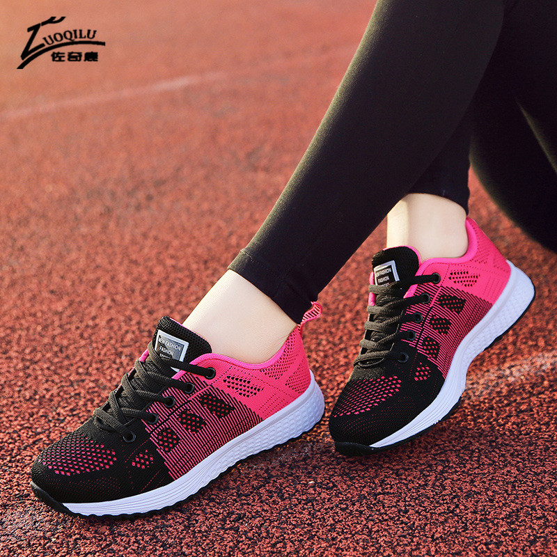 2018 Brand shoes woman women flats sneakers casual Breathable zapatos mujer tenis feminino chaussures femme lace-up women shoes women shoes casual shoes lightweight summer beach flats shoes women loafers breathable air mesh zapatos mujer tenis feminino u1
