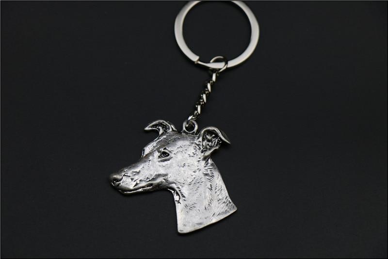 Купить брелок для ключей с изображением собаки популярный itallan greyhound