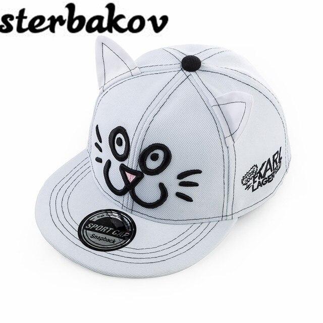 Online Shop New fashion children kids hip hop snapback hat character ... af22928f0dba