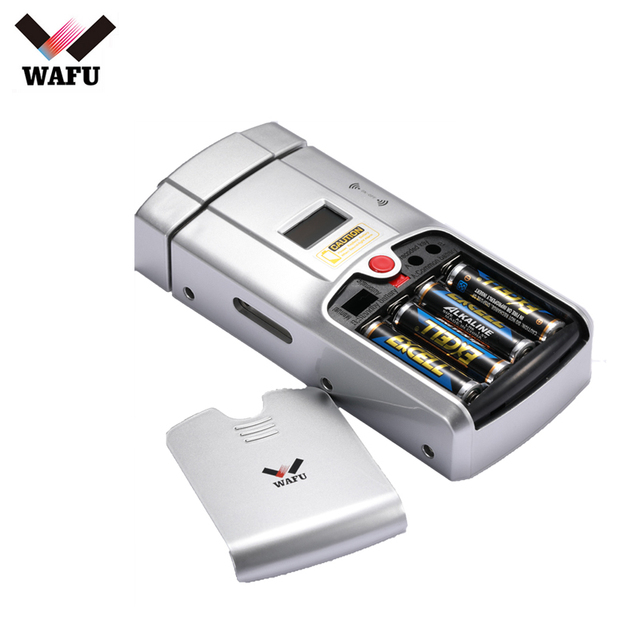 Wafu 2018 New Invisible Electronic Door Lock Wireless Remote Control Opeing With Dual Circuits Unlocked For Home Security