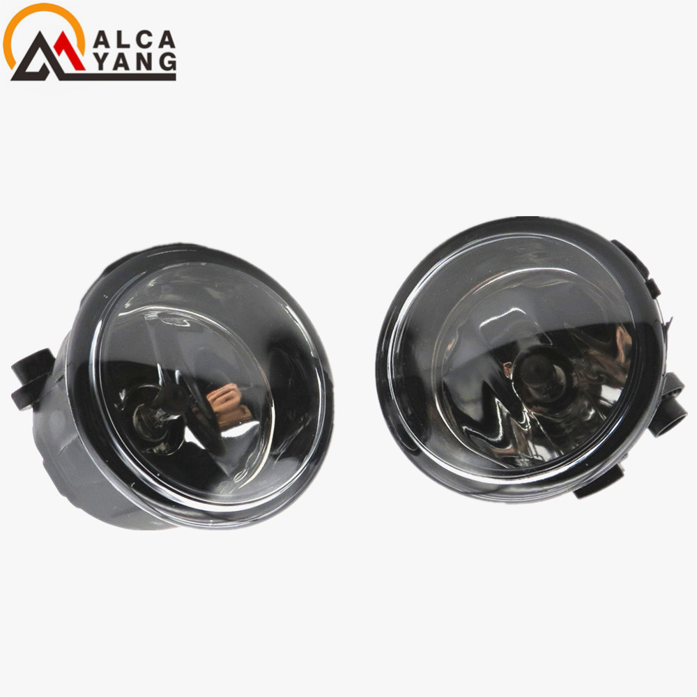 1set Car styling eagle eye Fog lights halogen lamps For NISSAN MURANO (Z51) 2007+2015 TIIDA Saloon (SC11X) 2006+2015 custom fit car trunk mat for nissan altima rouge x trail murano sylphy versa tiida 3d car styling tray carpet cargo liner