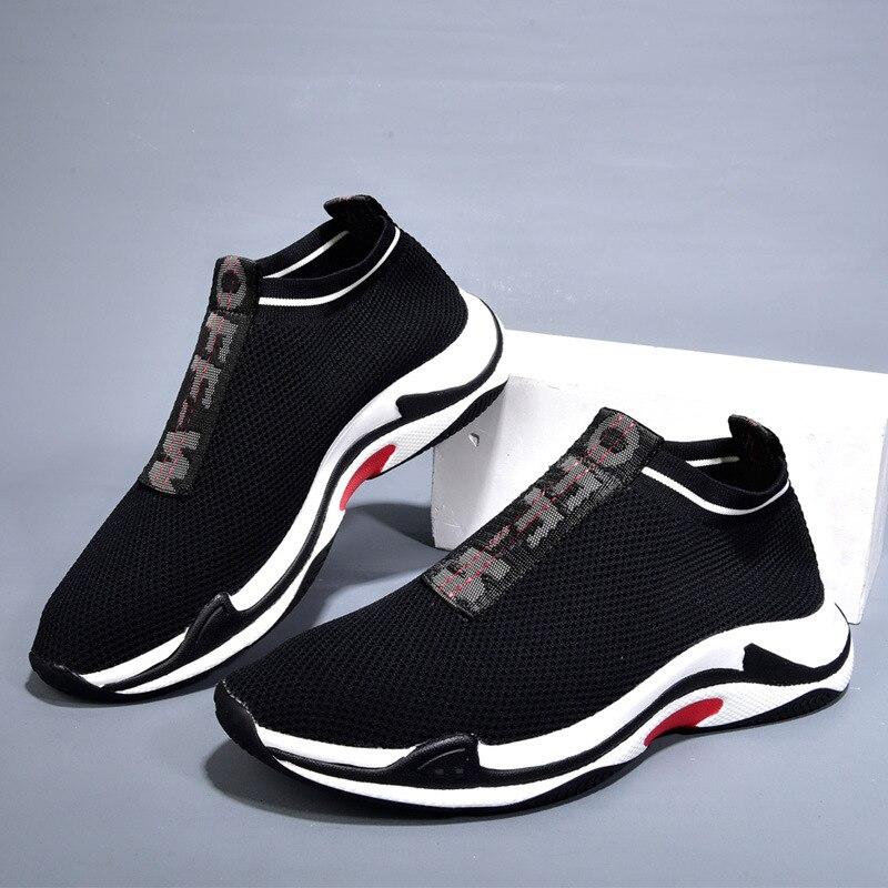 red Del Black Secado Masculinos Aire Blanco Al Casual Air Hombres Agujero Libre De Moda Rápido Alto Marea Neta Tacón Zapatos Mesh 4TwCq
