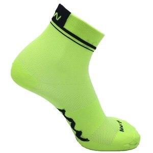Image 5 - Sports dété courtes chaussettes de cyclisme professionnel protéger les pieds course vélos chaussettes hommes femmes