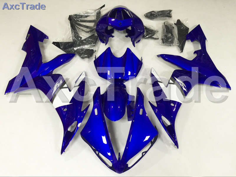 Motorcycle Fairings Kits For Yamaha YZF-R1000 YZF-R1 YZF 1000 R1 2004 2005 2006 ABS Injection Fairing Bodywork Kit Blue White wotefusi black motorcycle injection mold bodywork motorcycle fairing for 2004 2005 2006 yamaha yzf1000 r1 04 05 06 3 [ck813]