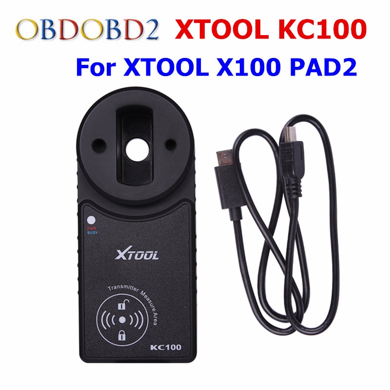 XTOOL Original KC100 For XTOOL X100 PAD2 Work For VW4&5th IMMO XTOOL KC 100 Work XTOOL PAD2 With DHL Free Shipping original qx82 s1 with free dhl