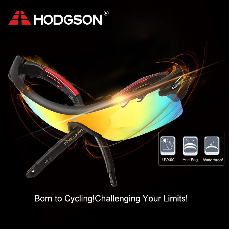 84f78f232b 8004 HODGSON Brand New Designed Anti fog Cycling Glasses Sports Eyewear  Bicycle Goggles Bike Sunglasses with 2 Polarized Lenses-in Cycling Eyewear  from ...